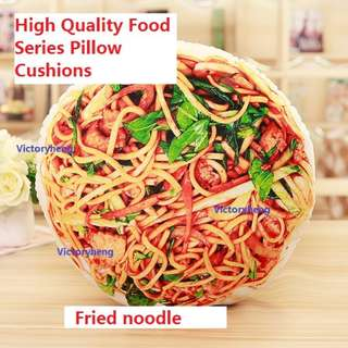 High Quality Food Series Pillow Cushions - Fried Noodle