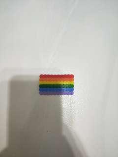Rainbow Flag Perler Beads