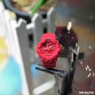 GSHOCK GA700 MATTE RED