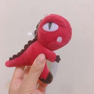 🚚 紅色小恐龍吊飾