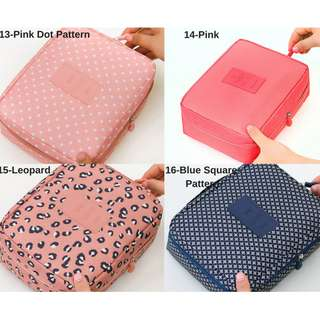 Women Cosmetic Travel Cute Makeup Bag
