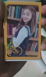 Jihyo Photocard