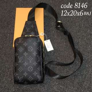 Unisex LV Chest Bag