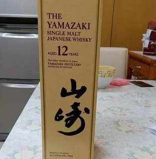 日本威士忌. 山崎12 whisky$2200