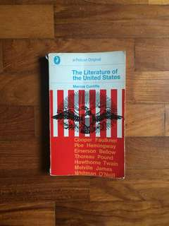 Marcus Cunliffe - The Literature of the United States (Pelican, 1970)