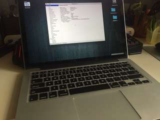 """MacBook Pro retina 2012 13"""" i7 512GB SSD /box"""