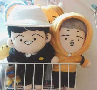 RapMon Cafe Suga Set Doll - 2 SET OF DOLL
