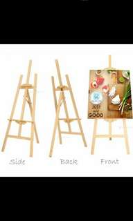 New Easel Stand Wooden Free Post