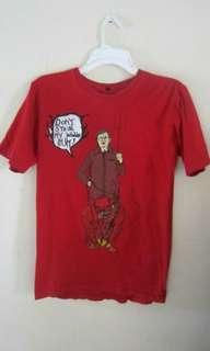 Tshirt manchester united (sir alex ferguson/red devil)