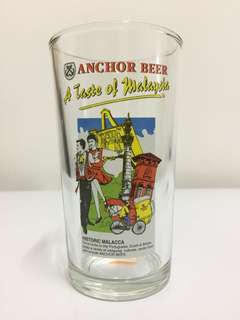 Anchor Beer Glass Mug - Historic Malacca