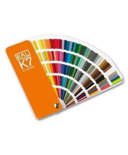 🚚 RAL K7 Colour Chart