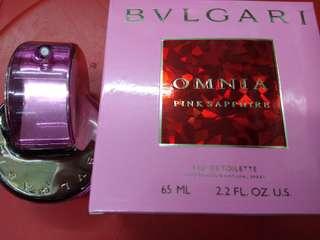 Bvlgari Omnia Pink Sapphire Ori New Box