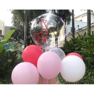 Personalised 24'' Helium Led Balloon