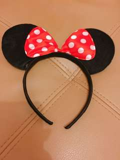 Minnie Mouse Headbad