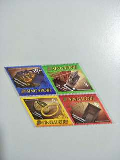 Singapore Stamps Indian Heritage Centre