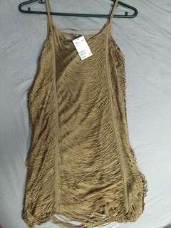 H&M Fringe Styled Dress