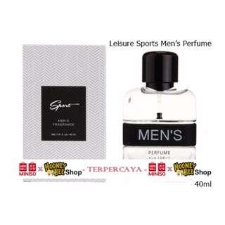 Parfum Pria Leisure Men Perfume for men Miniso Import