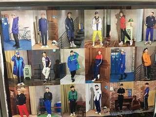 韓國人氣EXO MLB限量版海報
