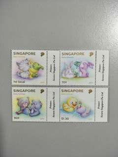 Singapore Stamps Baby Animals
