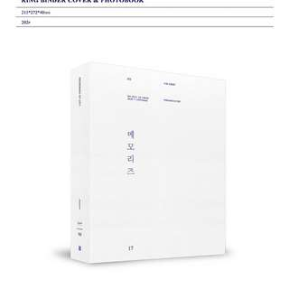 [PREORDER] BTS MEMORIES BOOK 2017
