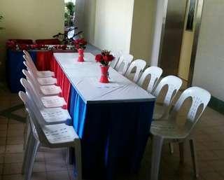 Table N Chair Rental