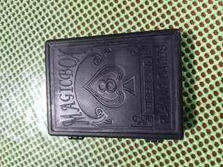 Dream Box Broken Paper Restore Card Pieces Magic Props (black)
