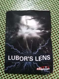 LUBOR LENS MAKE PENS AND PENCILS DISAPPEAR MAGIC PROP