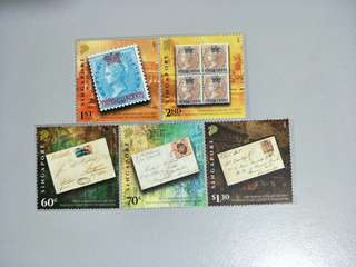 Singapore Stamps 150th Anniversary