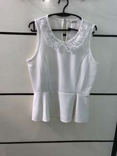 Blouse Top Crop