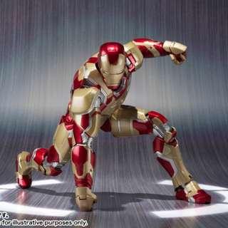 SHF Iron Man MK 42 Marvel Avengers