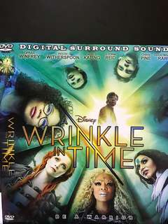 🚚 Dvd English movie, Wrinkle In Time