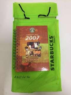 Starbucks Planner Year 2007