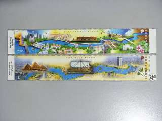 Singapore Stamps Singapore River