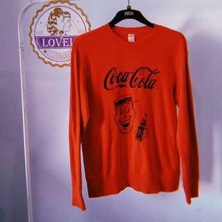 Uniqlo vintage coca cola sweater