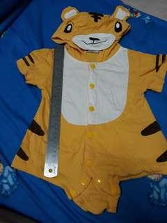 Baby Romper Tiger