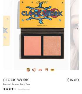 Pressed Powder Face Duo - Clock Work