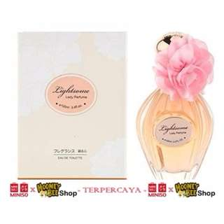 Parfum Wanita Lightsome Perfume For Women Miniso Import Elegant