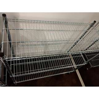 IKEA Omar Shelving unit, galvanized (very good condition)