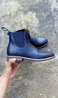 Txture Chelsea Boots Black Pull-up