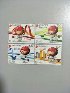 Singapore Stamps SEA Games