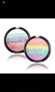 Focallure rainbow highlighter powder