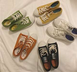 🚚 百搭小白鞋 餅乾鞋 帆布鞋 🆕款