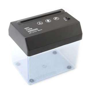 🚚 新品 迷你  USB 電動碎紙機 超輕便 方便使用 簡易操作 方便收納