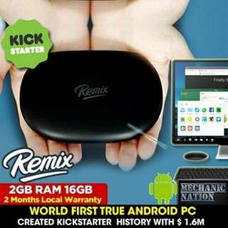 Remix Mini RM1G Android PC 2GB RAM / 16GB storage