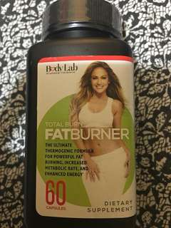 Body Lab by JLo Fat Burner Pills