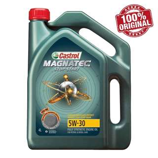 Castrol Magnatec 5W30 SN Fully Synthetic Engine Oil 4L