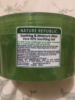 Nature republic NATREP aloe vera soothing gel