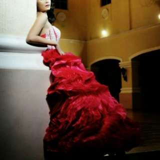 FOR RENT ONLY! Fuschia Pink Debut Gown