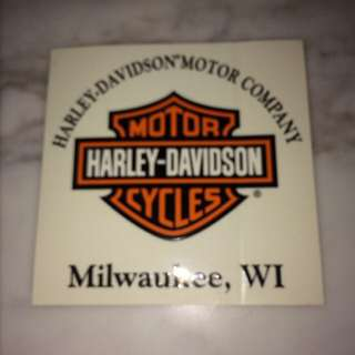 Harley-Davidson Decal