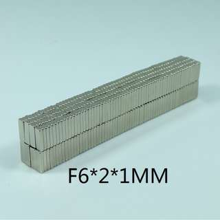 🚚 Micro N35 Magnets Rectangular 6x2x1mm - Neodymium Industrial Education Experiment Art and Craft